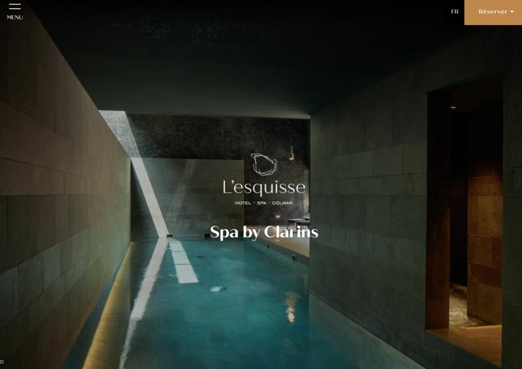 L'esquisse hotel x Spa by Clarins- studio421
