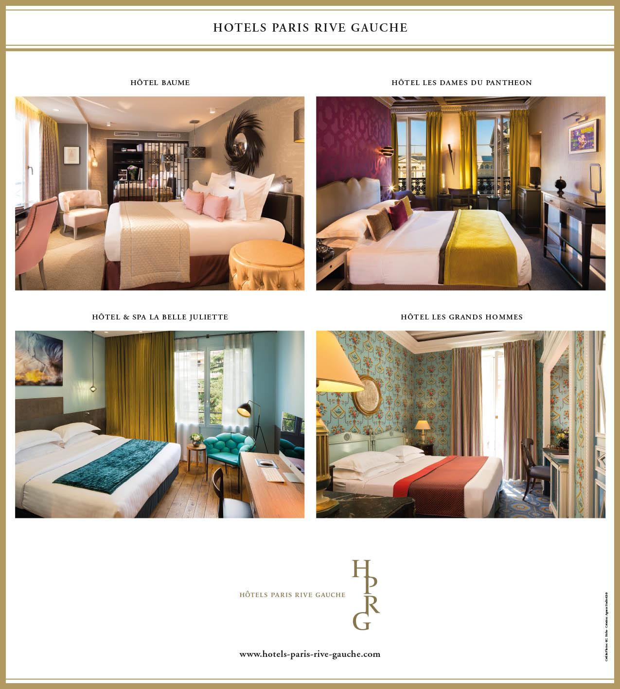 Affiche HOTEL PARIS RIVE GAUCHE