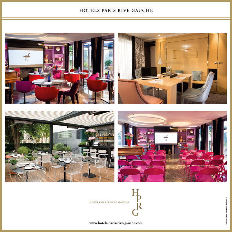 affiche hotels paris rive gauche salon 2016