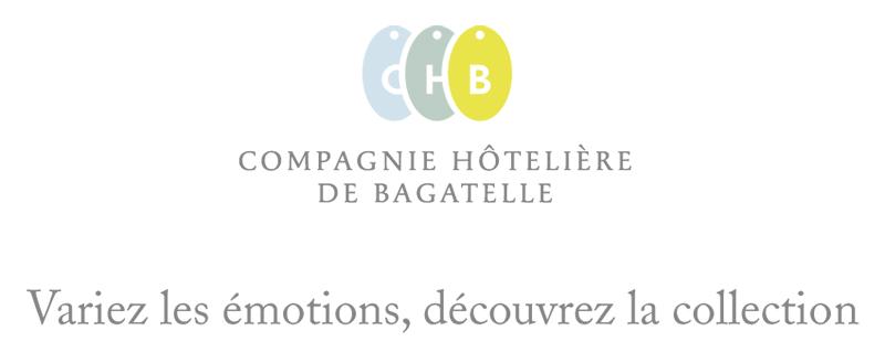 logo compagnie groupe hotelire de bagatelle