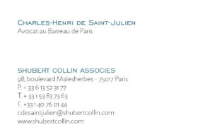 Shubert collin CV verso 4
