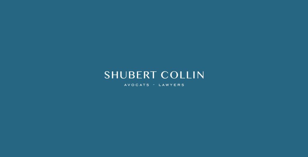 Shubert collin Correspondance recto