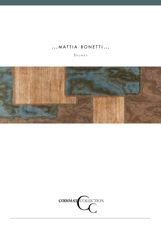 brochure Mattia Bonetti x Codimat