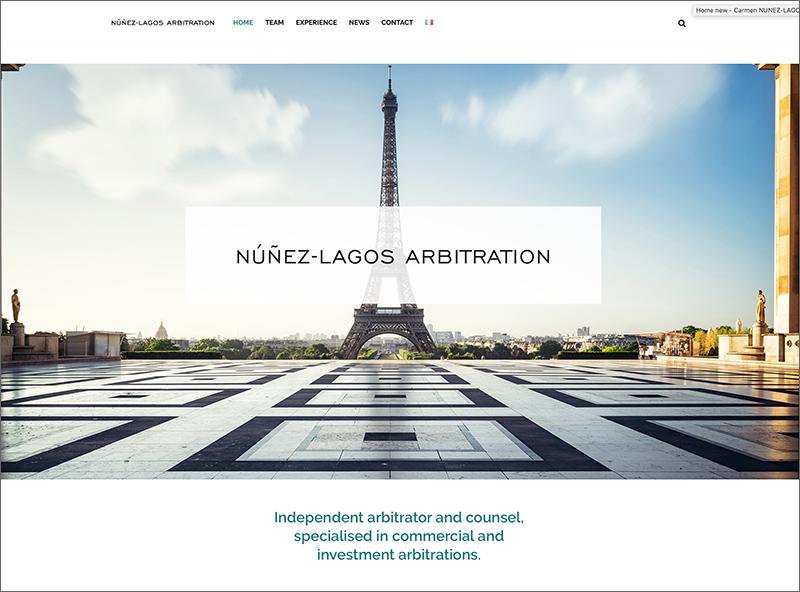 nunez-lagos-arbitration site web