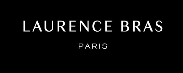 logo Laurence Bras blanc