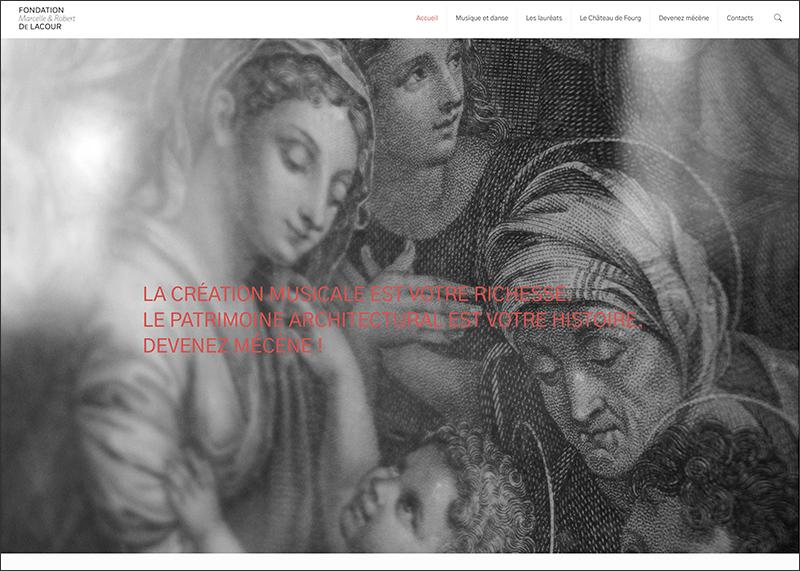 Fondation de Lacour réalisé par Studio421