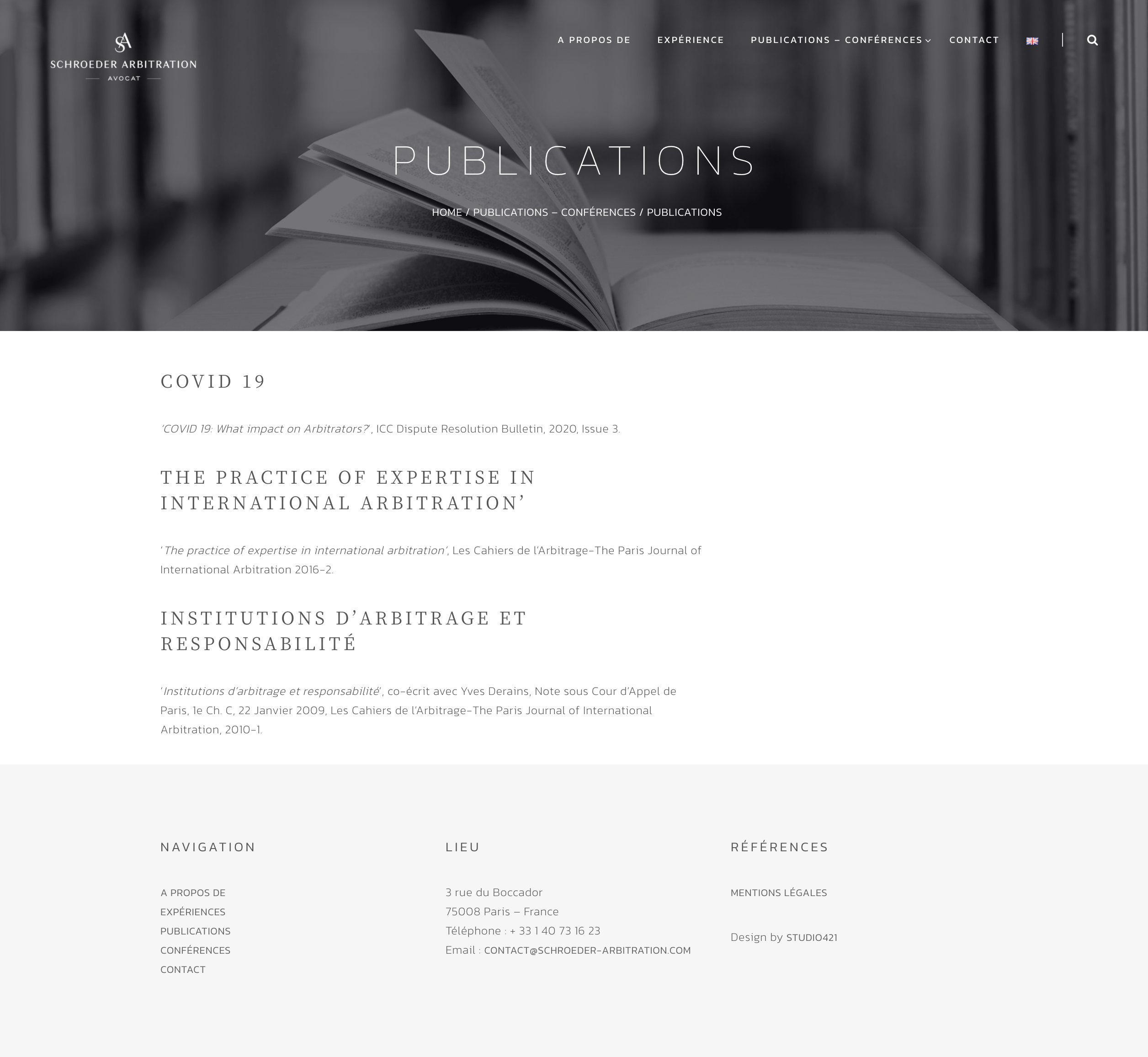 schroeder-arbitration.com- publications- studio421
