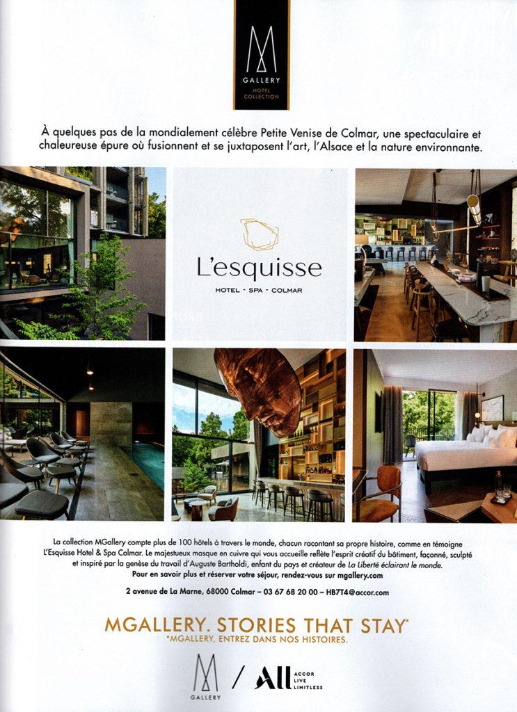 Marie Claire Maison Sept 2021 - MGallery Pub Colmar Studio421 LK