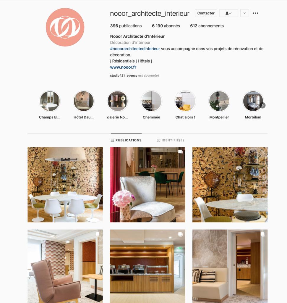 nooor instagram - Studio421